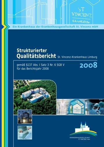 Qualitätsbericht 2008 - Häufige Fragen