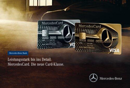 MercedesCard - Mercedes-Benz Bank