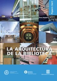 LA ARQUITECTURA DE LA BIBLIOTECA LA ARQUITECTURA DE ...