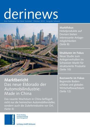 Marktbericht Das neue Eldorado der Automobilindustrie ... - Raiffeisen