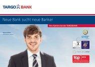 Neue Bank sucht neue Banker