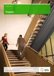 Rampen, Treppen und Treppenwege - BfU