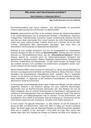 Kann Glutamat zu Adipositas - Dr. Kurt A. Moosburger