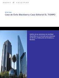 Caso de Éxito Blackberry-Casa Editorial EL TIEMPO