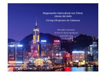 Amadeo Jensana Director de programas económicos CASA ASIA ...