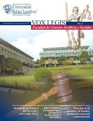 Revista Vox Legis - Universidad Rafael Landívar