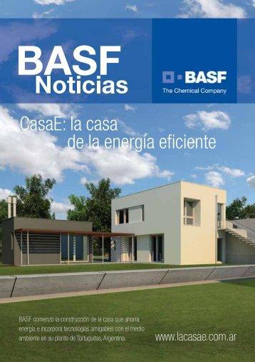 CasaE: la casa de la energía eficiente - Basf