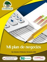 Mi plan de negocios - Fundesyram