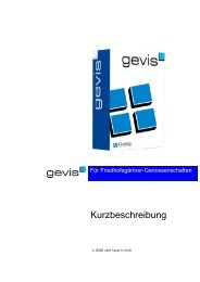Kurzbeschreibung - GWS