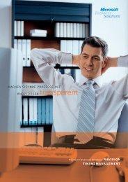 Finanzmanagement Marketing & Verkauf - Amann Informatik AG
