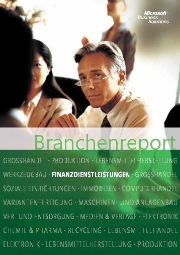 Branchenreport als PDF - Multibank Software.Service AG