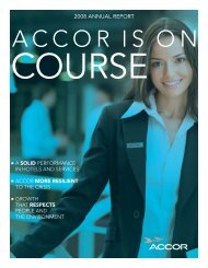 ACCOR IS ON