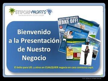 Bienvenido a la Presentación de Nuestro Negocio - stiforP