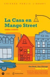 La Casa en Mango Street - Chicago Public Library