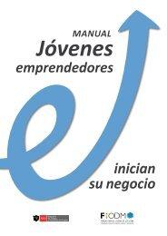 """Manual """"Jóvenes Emprendedores Inician su Negocio"""" - conjoven ..."""