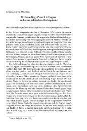 Der Imre-Nagy-Prozeß in Ungarn und seine - EPA