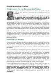 Lesen Sie mehr dazu - Theatergruppe Friedrichsdorf eV