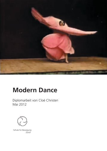 Diplomarbeit Modern Dance - tanZstelle
