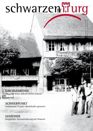 das magazin von Schwarzenburg | no 10 | Oktober 2010