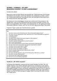 schwul / lesbisch – na und? managing diversity in der ... - Praev net.