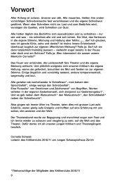 Kritikerzeitung 2010/11 - Junges Schauspielhaus Zürich
