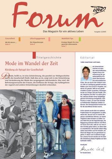 Lifta Forum: Mode im Wandel der Zeit – neue Lifta-Hebeplattformen