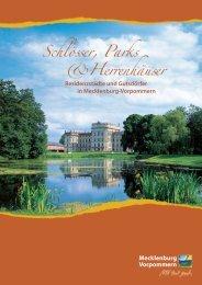 Schlösser, Parks & Herrenhäuser - Urlaub an Ostsee und Seen ...