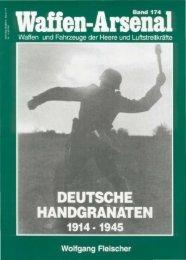 Waffen Arsenal 174 Deutsche Handgranaten