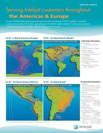 IS-27 Fact Sheet - Intelsat