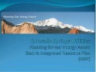 EIRP - Colorado Springs Utilities