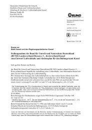 3 fazit - BUND Kreisverband Kassel - BUND für Umwelt und ...