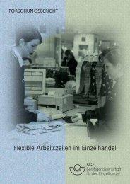 Flexible Arbeitszeiten im Einzelhandel - Berufsgenossenschaft ...