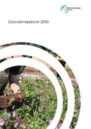 Geschäftsbericht 2010 - Bürgschaftsbank Hessen