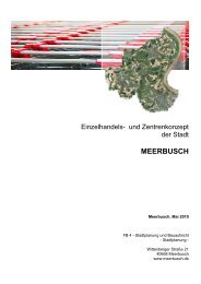 Einzelhandels- und Zentrenkonzept - Stadt Meerbusch