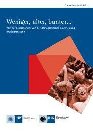 Weniger, älter, bunter - Wie der Einzelhandel von der - IHK Kassel