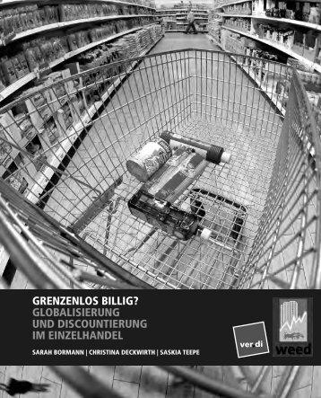 grenzenlos billig? globalisierung und discountierung im ... - Weed