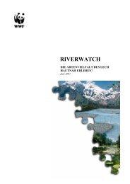Riverwatch Endbericht - Naturpark Tiroler Lech