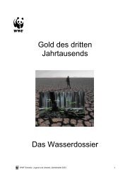 Inhaltsverzeichnis - WWF Schweiz