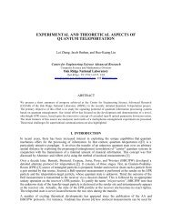 experimental and theoretical aspects of quantum teleportation