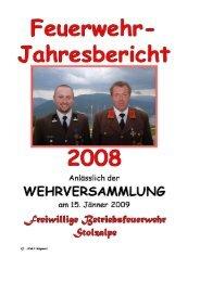 Jahresbericht 2008 - LKH Stolzalpe