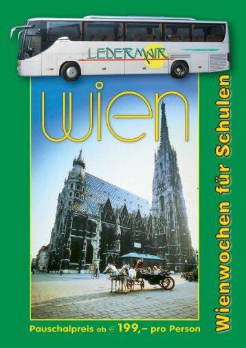 Informationen finden Sie in unserem Programmheft! - Busreisen Heiss