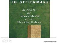 Ing. Scharl: Auswirkung der Gebäuderichtlinie auf den ... - LIG