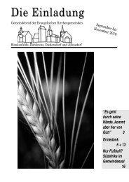 Einladung 9-11 - Evangelischer Kirchenkreis Zossen-Fläming