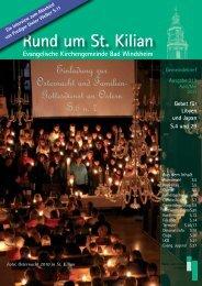 Einladung zur Osternacht und Familien- Gottesdienst an Ostern S.6 ...