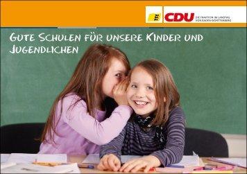 10 gute Gründe für unser differenziertes und ... - CDU-Fraktion