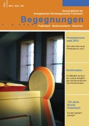 GB-12-2 ohne Amtshandlungen für homepage - Evangelische ...