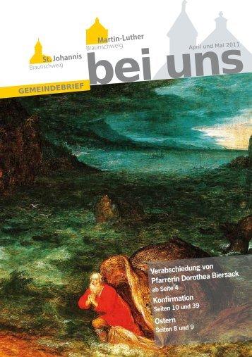 Verabschiedung von Pfarrerin Dorothea Biersack Konfirmation Ostern
