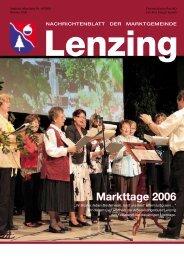 Markttage 2006 Markttage 2006 - Lenzing - Land Oberösterreich
