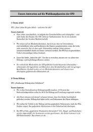 Unsere Antworten auf die Wahlkampfparolen der ... - CDU Flensburg