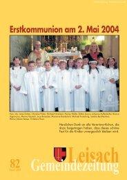BÜRGERSERVICE– Wichtige Informationen - Leisach - Land Tirol